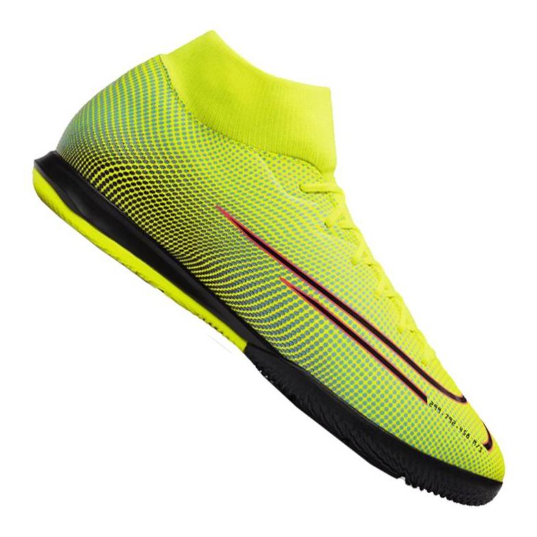 Nike Superfly 7 Academy Mds Ic M BQ5430-703 schoenen geel geel