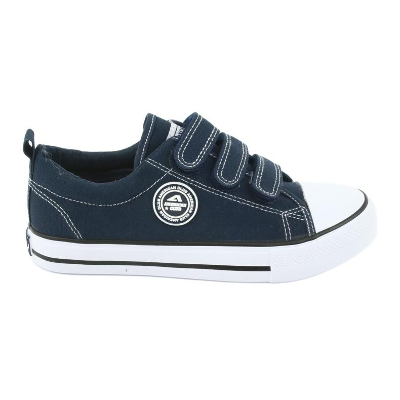 American Club Amerikaanse LH31 marineblauwe sneakers