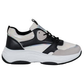 Ideal Shoes Casual platform sneakers