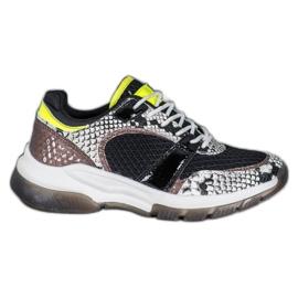 Kylie Comfortabele sneakers van Snake Print veelkleurig