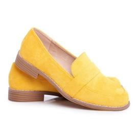 SEA Suède gele Cintra-schoenen voor dames geel