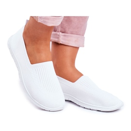 NEWS Kaontre Witte Slip-On sneakers voor dames