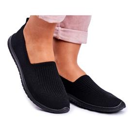 NEWS Kaontre zwarte instapsneakers voor dames
