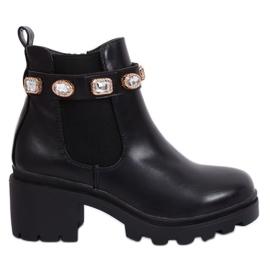Zwarte Jodhpur-laarzen zwart HE107 zwart
