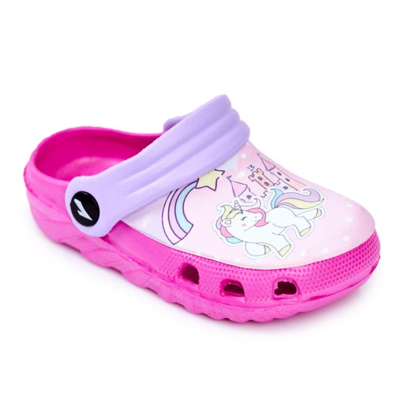 Slippers voor kinderen Foam Crocs Pink Ponies Pony roze