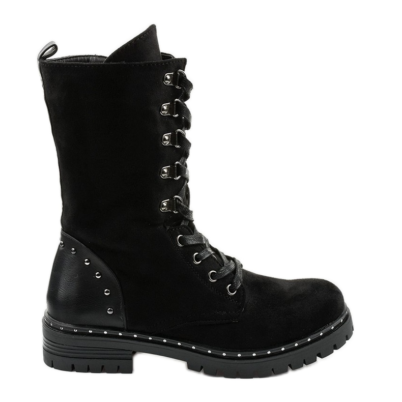Zwarte laarzen, laarzen en laarzen van Isoris