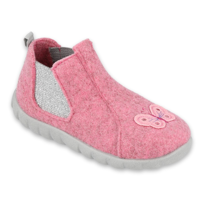 Befado kinderschoenen 546P024 roze zilver