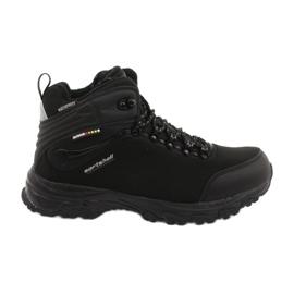 American Club Amerikaanse trekking Softshell-laarzen met een membraan zwart