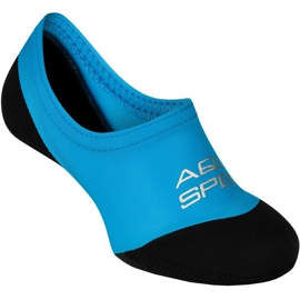 Aqua-speed Neo zwemsokken col.01 blauw