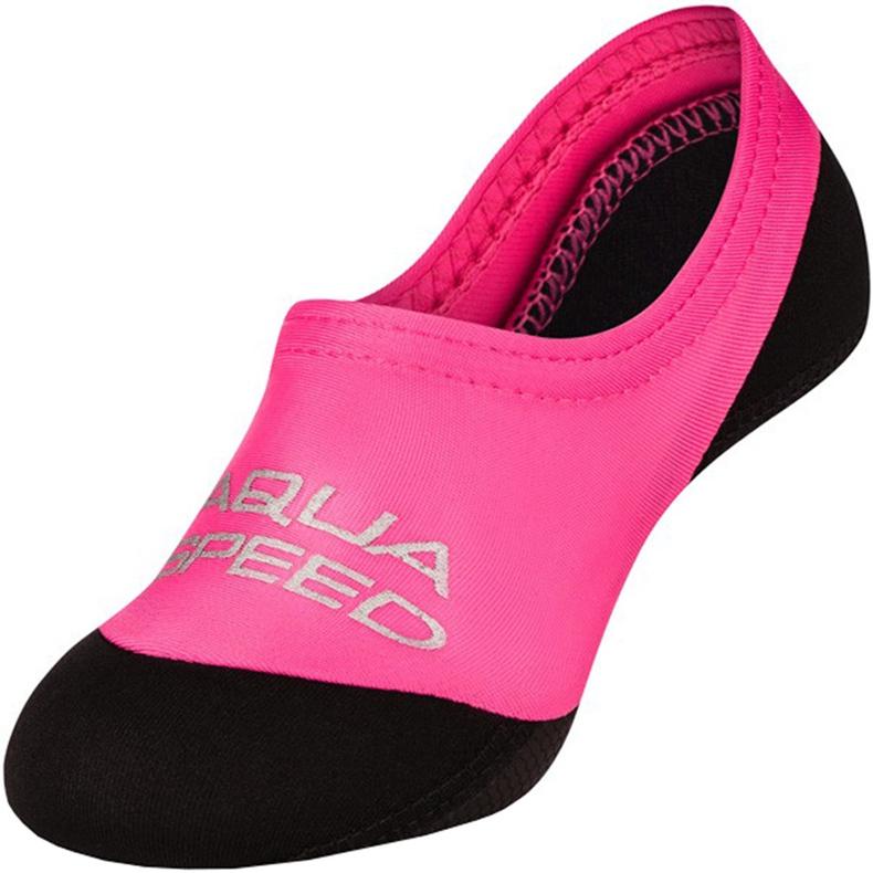 Aqua-speed Neo zwemsokken kleur 03 zwart roze