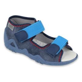 Befado gele kinderschoenen 350P015 marineblauw blauw