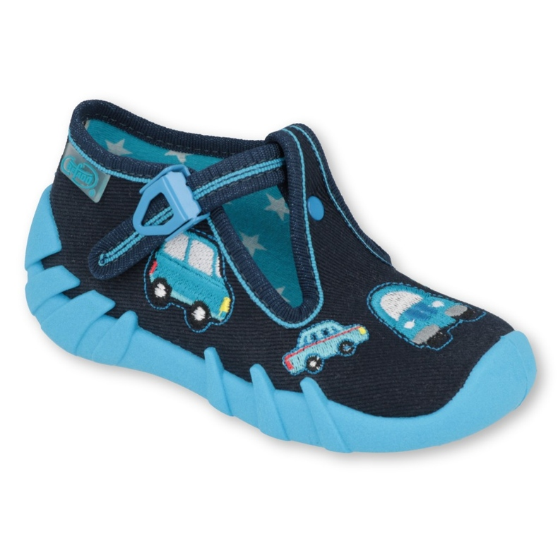Befado kinderschoenen 110P405 marineblauw blauw