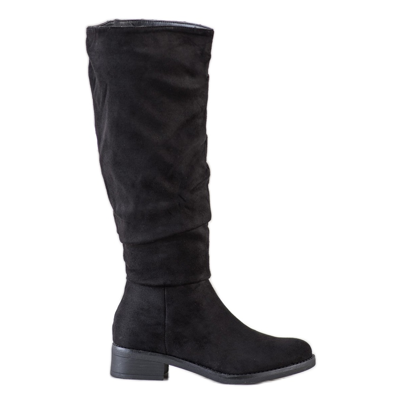 Sweet Shoes Suède laarzen zwart
