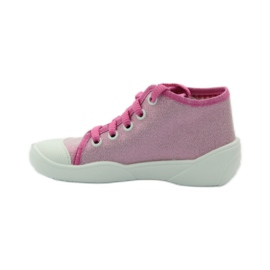 Befado kinderschoenen sneakers slippers 218p047 roze 2