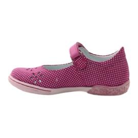 Ren But Ballerina's damesschoenen Ren Maar 3285 roze wit 2