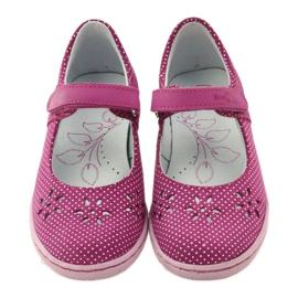 Ren But Ballerina's damesschoenen Ren Maar 3285 roze wit 4