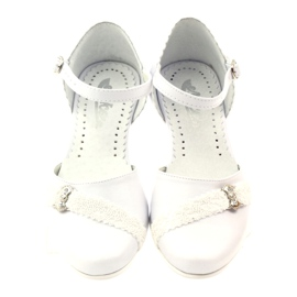 Courtesy ballerinas Communion Miko 714 wit 4