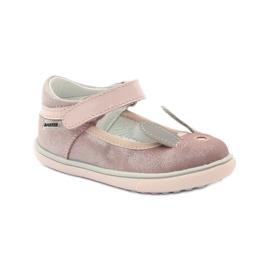 Ballerinki konijn Bartek 31908 roze brokaat 1
