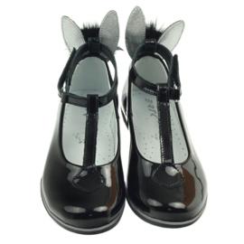Ballerina's naar beneden met oren Bartek 45025 zwart 4