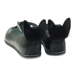 Ballerina's naar beneden met oren Bartek 45025 zwart 3