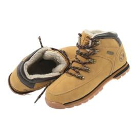 American Club Amerikaanse laarzen winterlaarzen 152619 camel geel 4