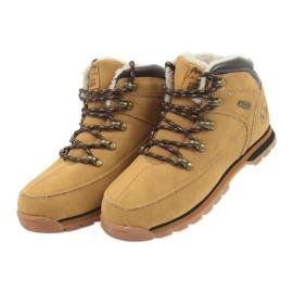 American Club Amerikaanse laarzen winterlaarzen 152619 camel geel 3