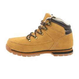 American Club Amerikaanse laarzen winterlaarzen 152619 camel geel 2