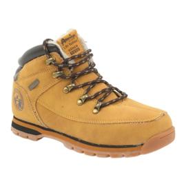 American Club Amerikaanse laarzen winterlaarzen 152619 camel geel 1