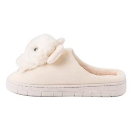 Comfortabele pantoffels bruin 7