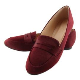 Mocassins dames bordeaux rood 3109 Rood 1