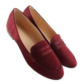 Mocassins dames bordeaux rood 3109 Rood 5