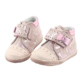 Ren But Klittenbandschoenen Babyschoenen Ren Maar 1535 roze flamingo's 4