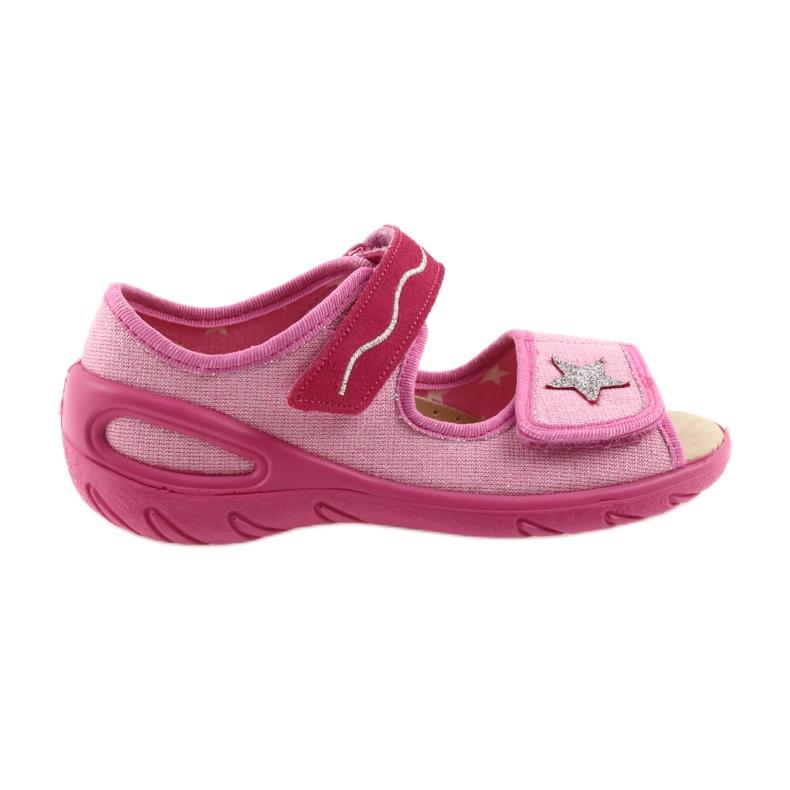 Roze Befado kinderschoenen pu 433X032 afbeelding 1