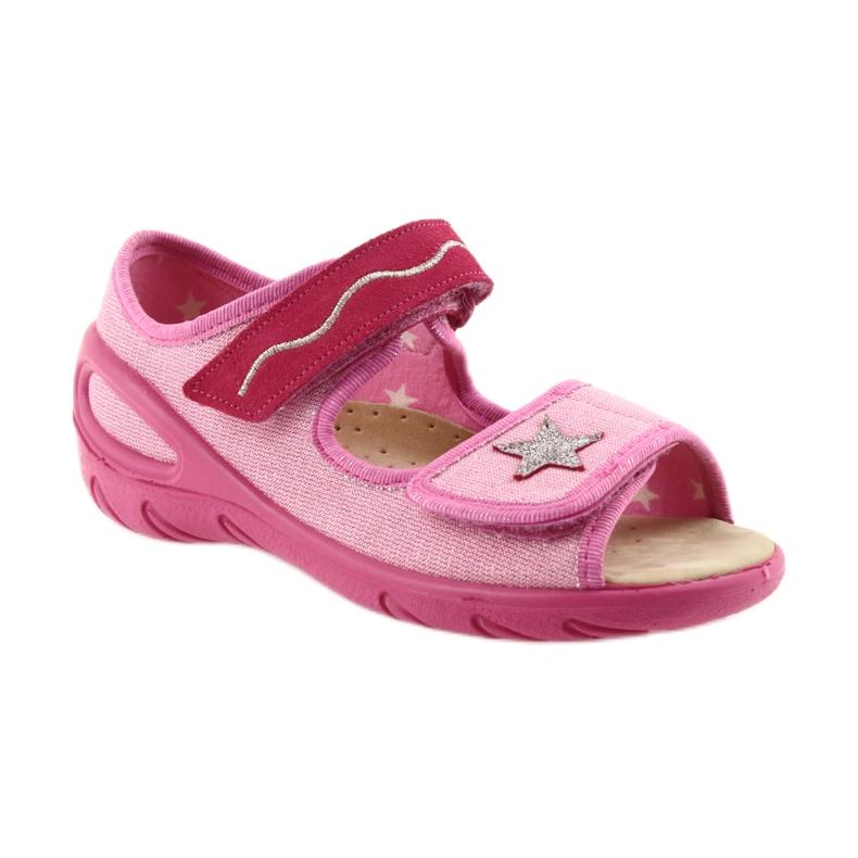 Roze Befado kinderschoenen pu 433X032 afbeelding 2