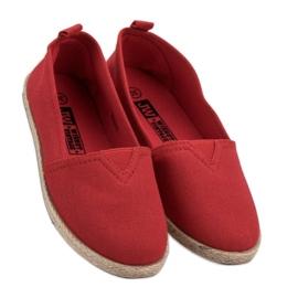 Kinder espadrilles rood 1