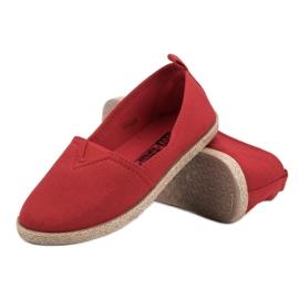 Kinder espadrilles rood 2