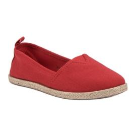 Kinder espadrilles rood 3