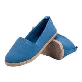 Kinder espadrilles blauw 4