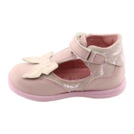 Ren But Ballerina's voor meisjes met strik Ren 1466 roze 2