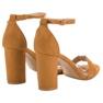 Anesia Paris bruin Sexy kameel sandalen afbeelding 6