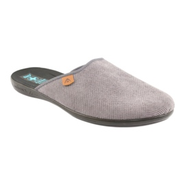 Slippers Adanex herenslippers grijs 1