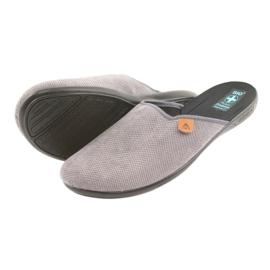 Slippers Adanex herenslippers grijs 4