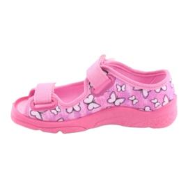 Befado kinderschoenen 969X134 roze 3
