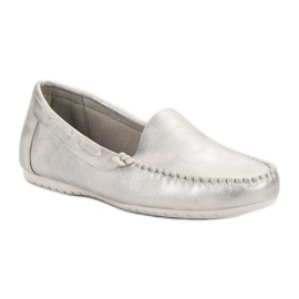 Goodin Comfortabele mocassins grijs 4