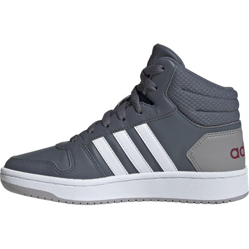 Grijs Schoenen adidas Hoops Mid 2.0 Jr EE6709