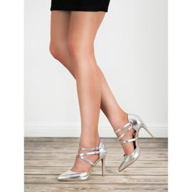 Kylie Shiny Fashion Studs grijs 1