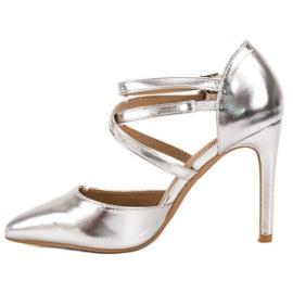 Kylie Shiny Fashion Studs grijs 4