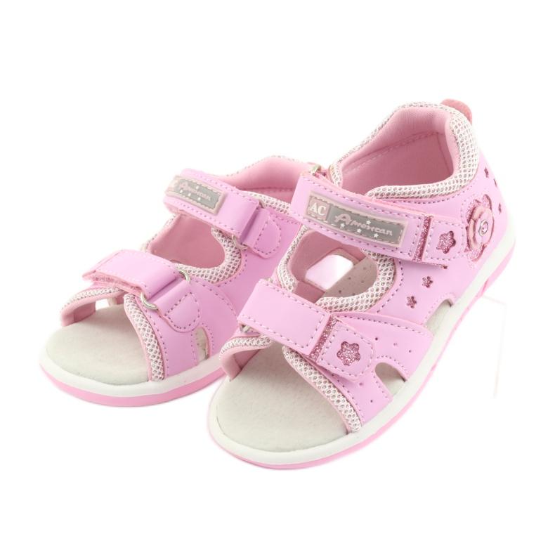 American Club DR20 roze meisjessandalen afbeelding 3