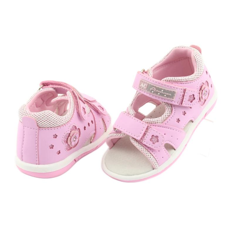 American Club DR20 roze meisjessandalen afbeelding 4