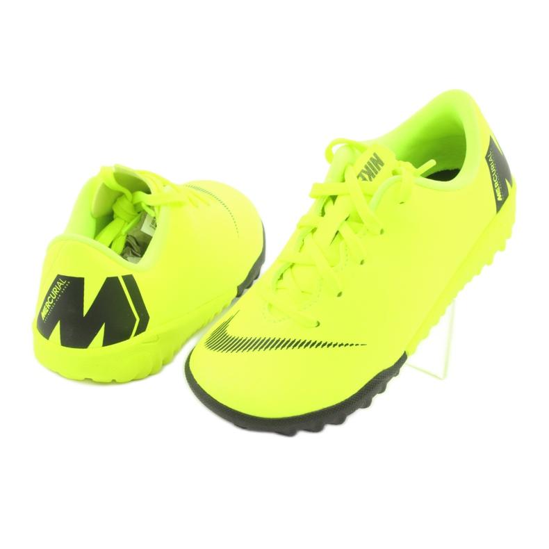 Nike Mercurial VaporX 12 Academy Tf Jr AH7353-701 voetbalschoenen afbeelding 4